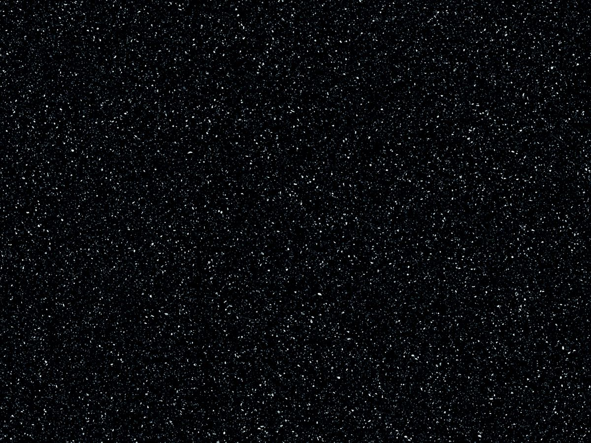 Deep Black Quartz corian worktops UK